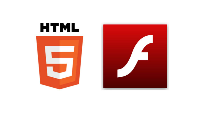 Flash i HTML5 logotip