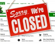 Dmoz slika stranice sorry we are closed