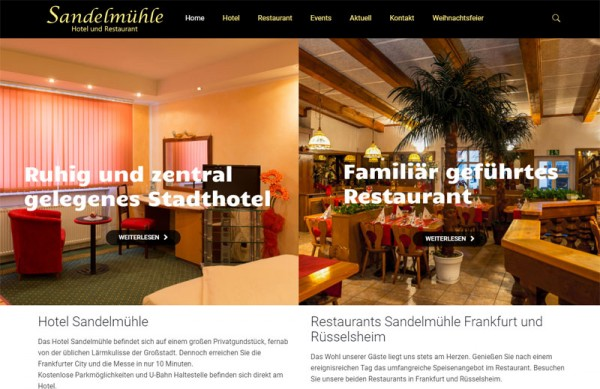 Hotel i restoran Sandelmuhle