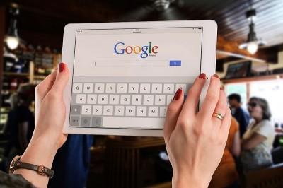 Google pretraživanje na tabletu