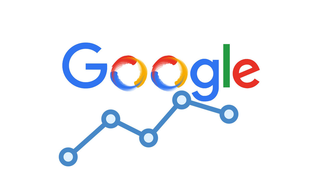 Google ranking logotip