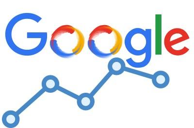Google logo grafikon