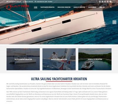 Yachtcharter Kroatien website