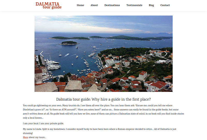 Referenca Dalmatia Tour Guide
