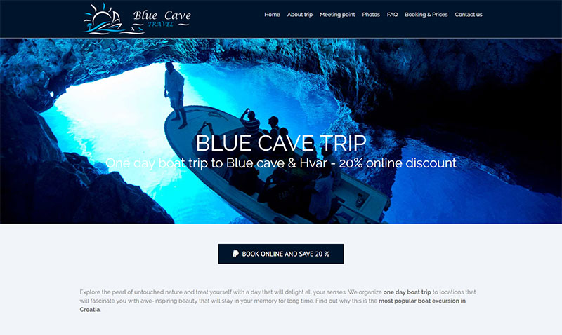 Blue Cave Trip