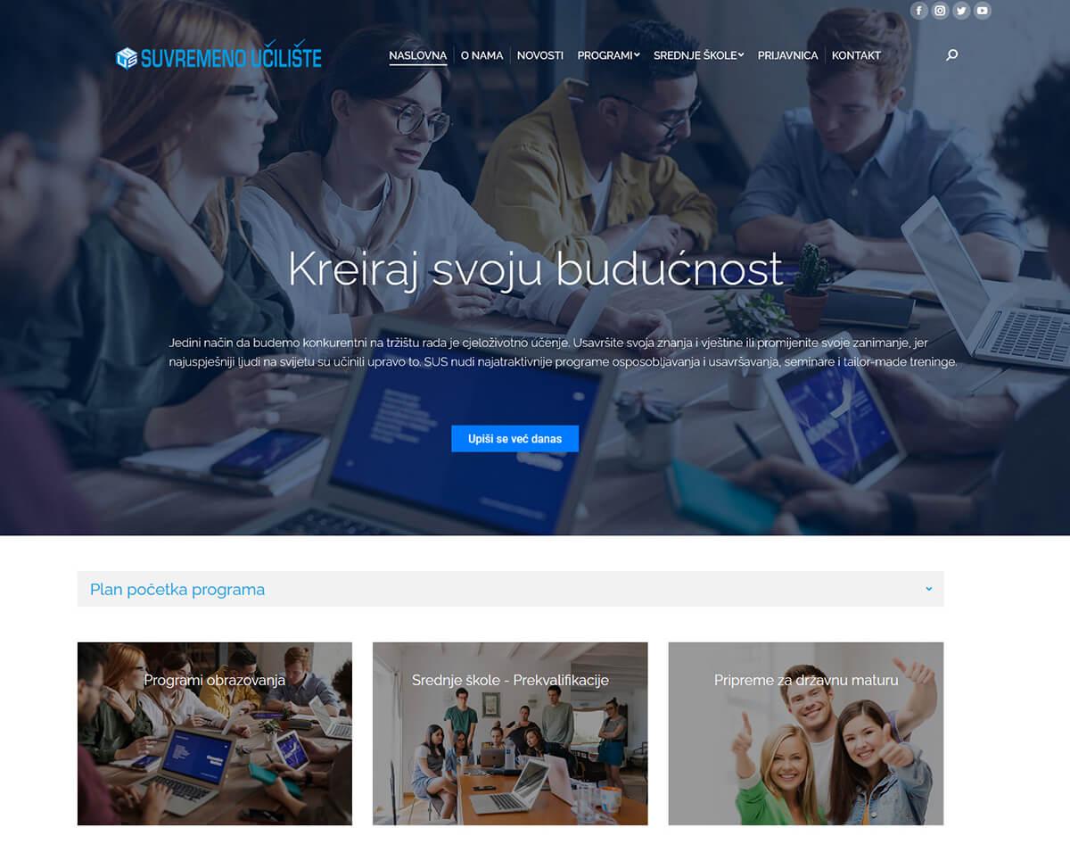 Suvremeno učilište web