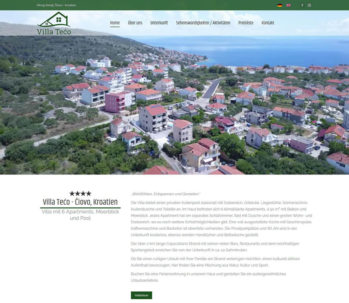 Villa Tećo