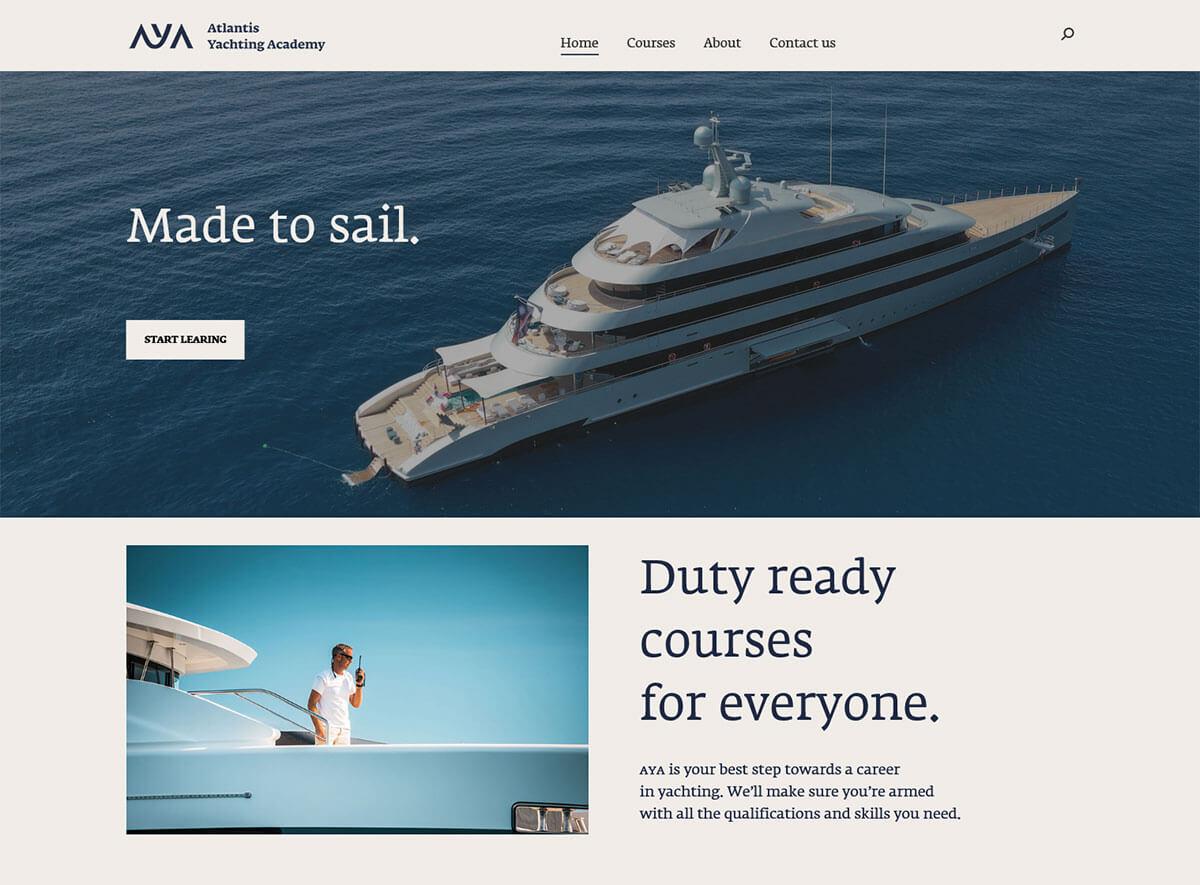 Atlantis yachting academy