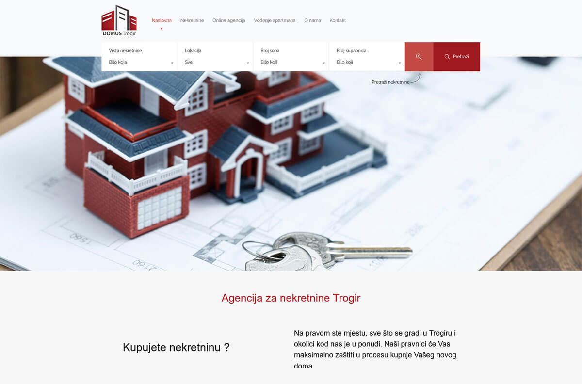 Domu nekretnine Trogir